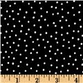 Loralie Designs Sew Creative Dinky Dot Black White