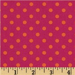 Michael Miller Dumb Dot Sorbet Pink Fabric