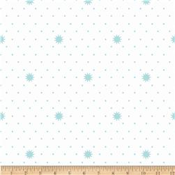 Riley Blake Lula Magnolia Night White Fabric