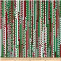 Holiday Cheer Drawing Straws Green/Red