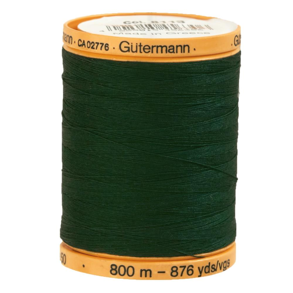 Gutermann Natural Cotton Thread 800m/875yds Hunter