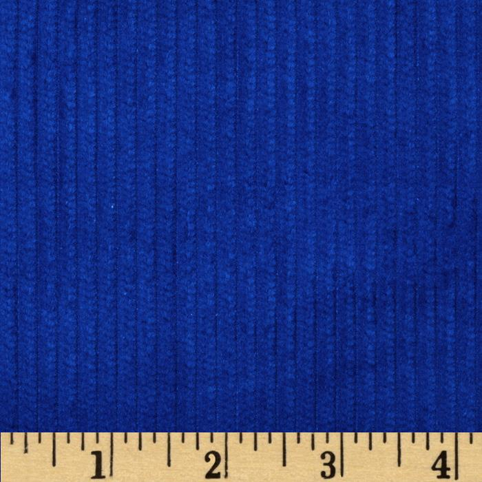 6 wale corduroy royal discount designer fabric for Kids corduroy fabric