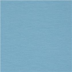 Medium Weight Stretch Rayon Jersey Knit Powder Blue