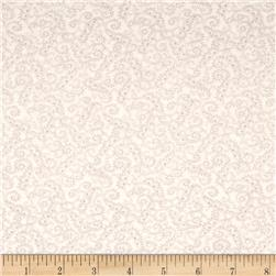 Moda Whitewashed Cottage Scrolls Linen-Heather