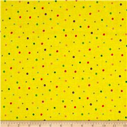 Sanja Rescek Rhyme Time Dots Yellow