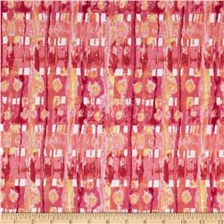 Ambrosia Plaid Rose Fabric
