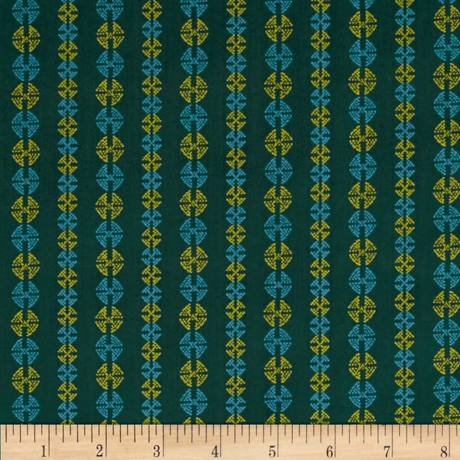 Amy Butler Bright Heart Stitchy Dots Hunt Fabric by Westminster in USA