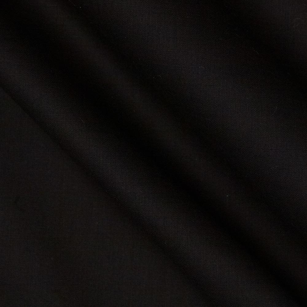 Linen/Cotton Voile Black