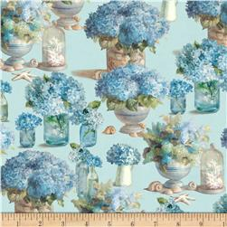 Coastal Bliss Floral Blue