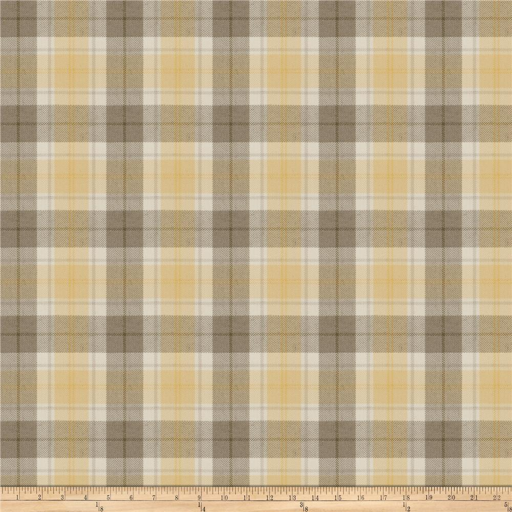 Fabricut Twitch Plaid Cloud