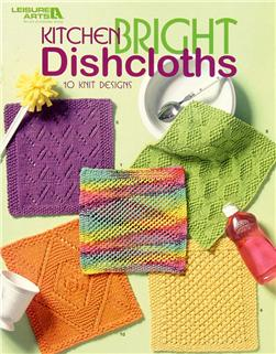 "Leisure Arts ""Kitchen Bright Dishcloths"" Book"