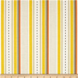 Michael Miller Racing Stripes Khaki Fabric