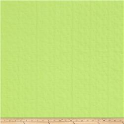 Isaac Mizrahi Pick Weave Matelasse Green Flash
