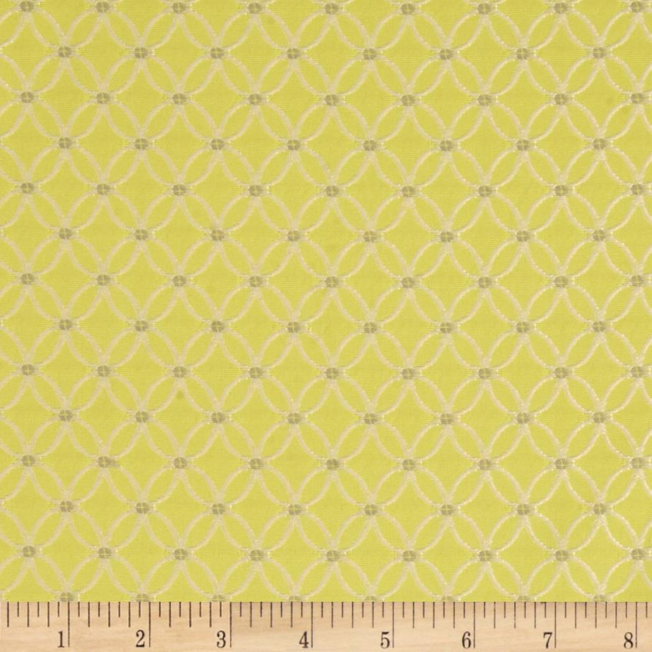 HGTV Home On The Web Jacquard Citrine