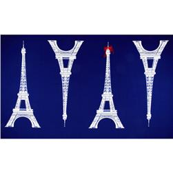 Kokka Canvas Paris Panel Eiffel Tower Large Blue