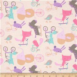 Play Date Wheels Picnic Fabric