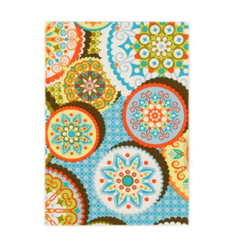Lifestyle Fabric Covered Journal Medallion