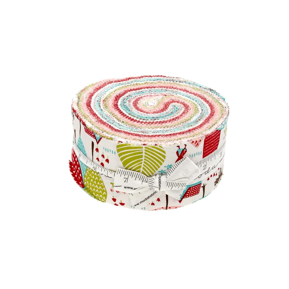 "Moda Lil' Red 2.5"" Jelly Roll"