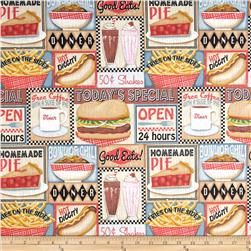 Good Eats Diner Patchwork Multi