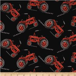 Old Farmstead Tractors Black