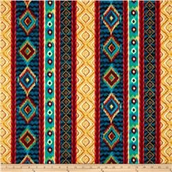 Timeless Treasures Ikat Stripe Multi