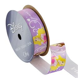 "7/8"" Disney Princesses Ribbon Pure Heart Multi"