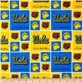 Collegiate Cotton Broadcloth University of California, Los Angeles Blue