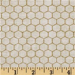 Queen Bee Honeycomb Beige