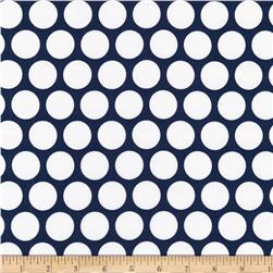 Kaufman Spot On Geo Dot Navy