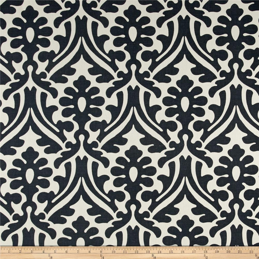 Premier Prints Holly Damask Macon Gunmetal