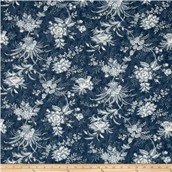 Moda Snowberry Floral Toile Midnight