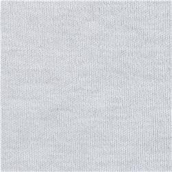 Telio Organic Cotton Interlock Knit White