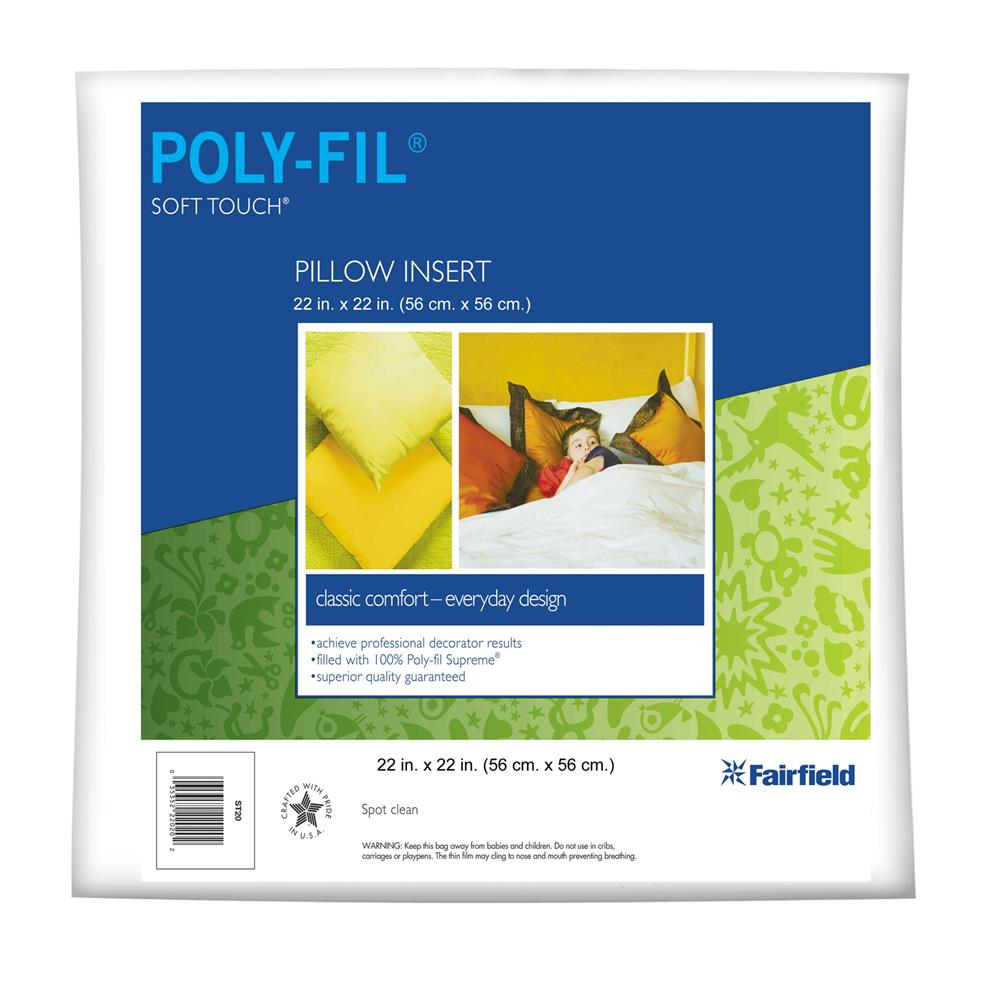 Fairfield Soft Touch Supreme Poly-Fil Pillow 22