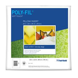 Fairfield Soft Touch Supreme Poly-Fil Pillow 22'' Square