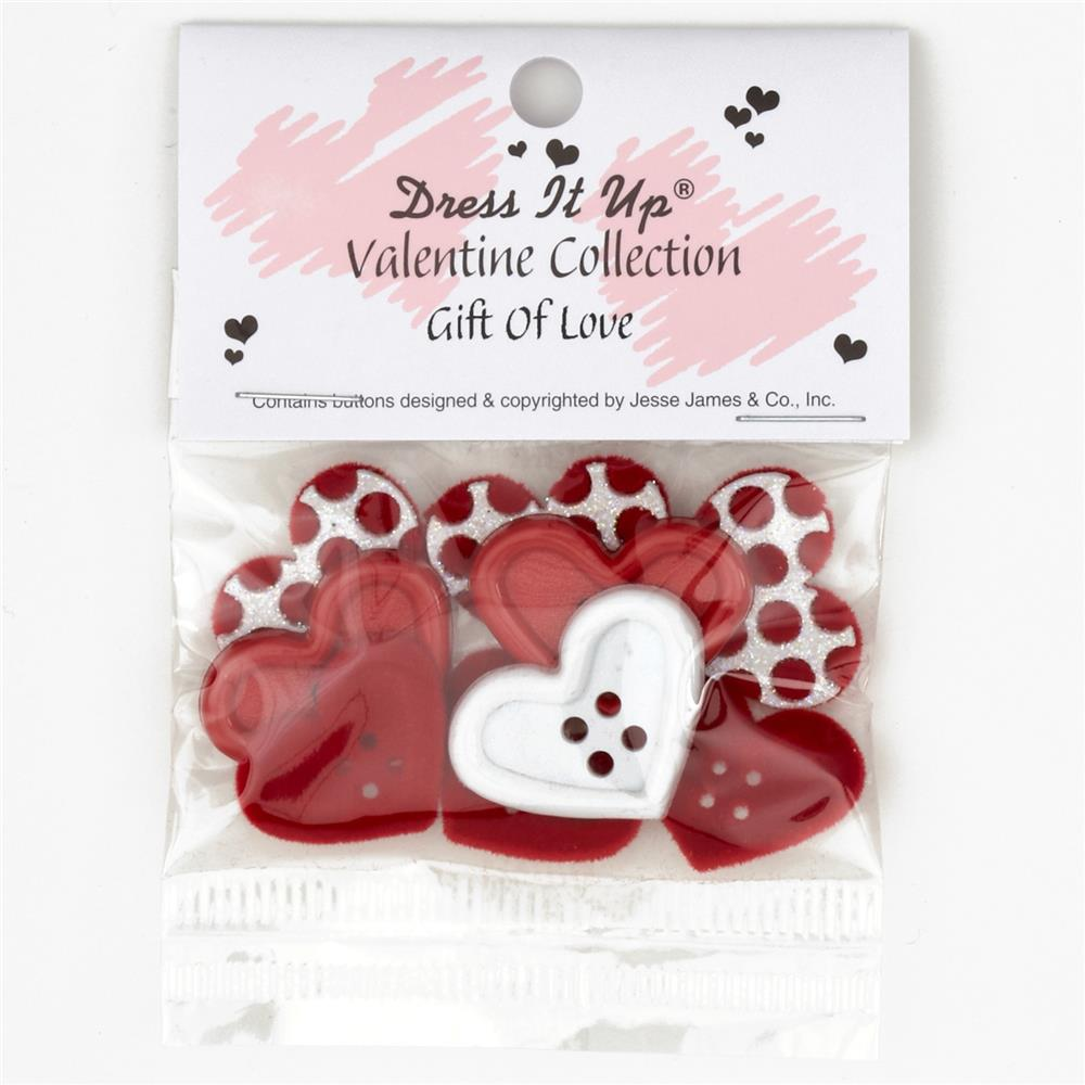 Dress It Up Embellishment Buttons Gift Of Love