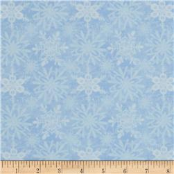 Snow Fun Snowflake Light Blue