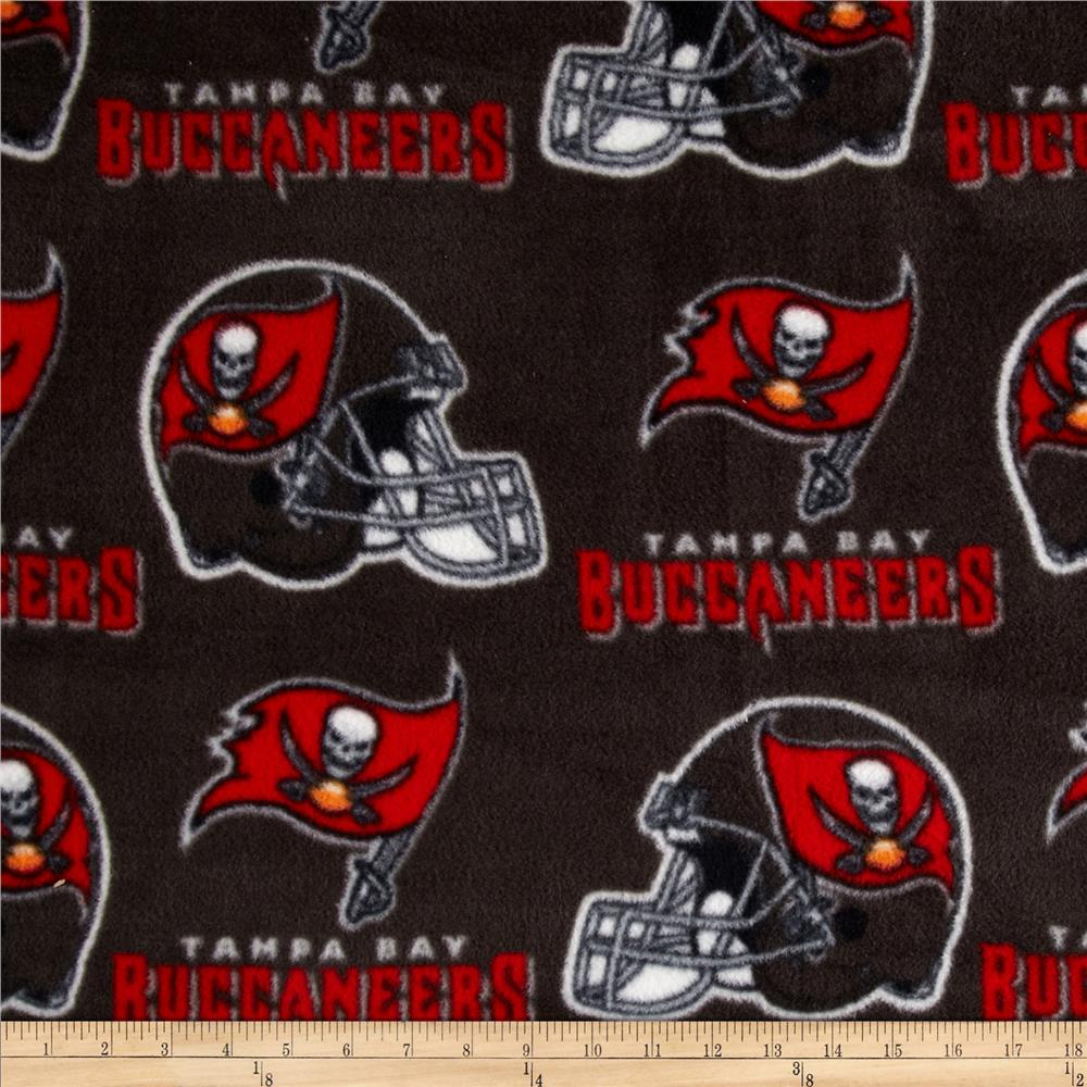 NFL Fleece Tampa Bay Buccaneers Black