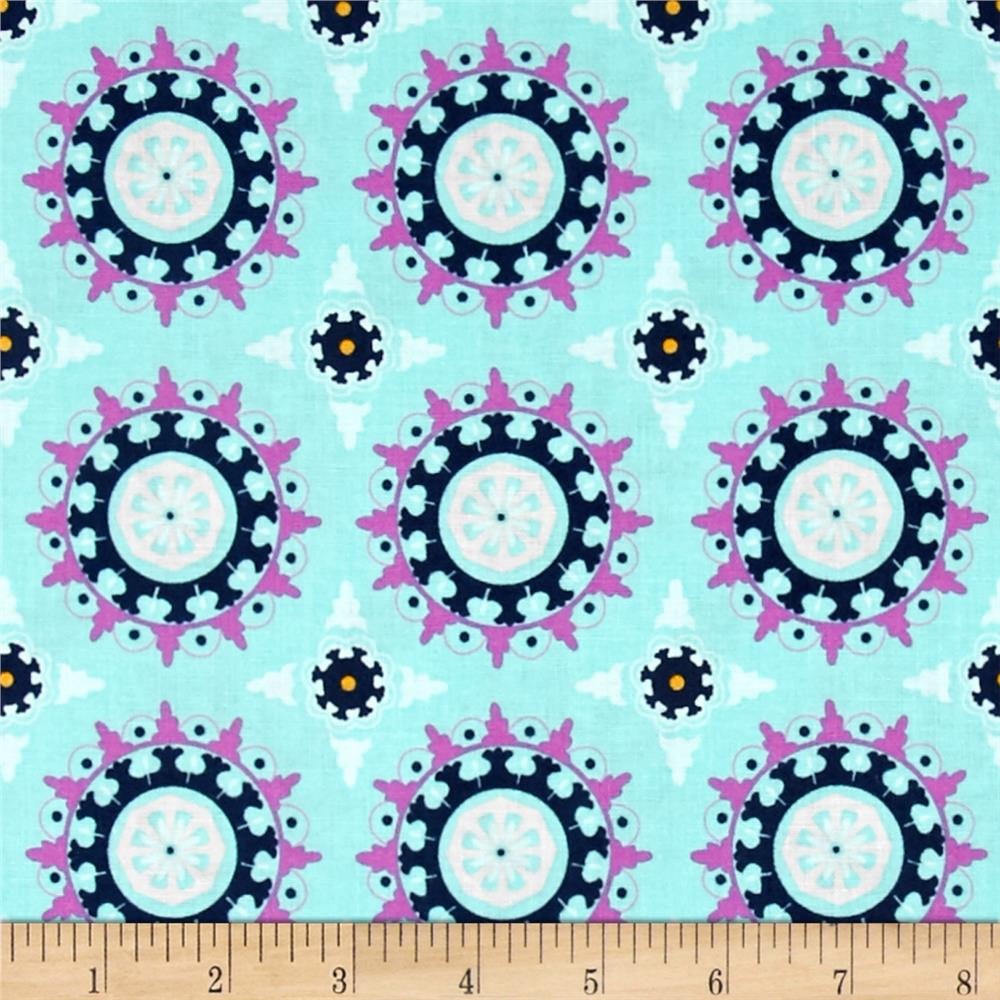 Riley Blake Lulabelle Medallion Mint