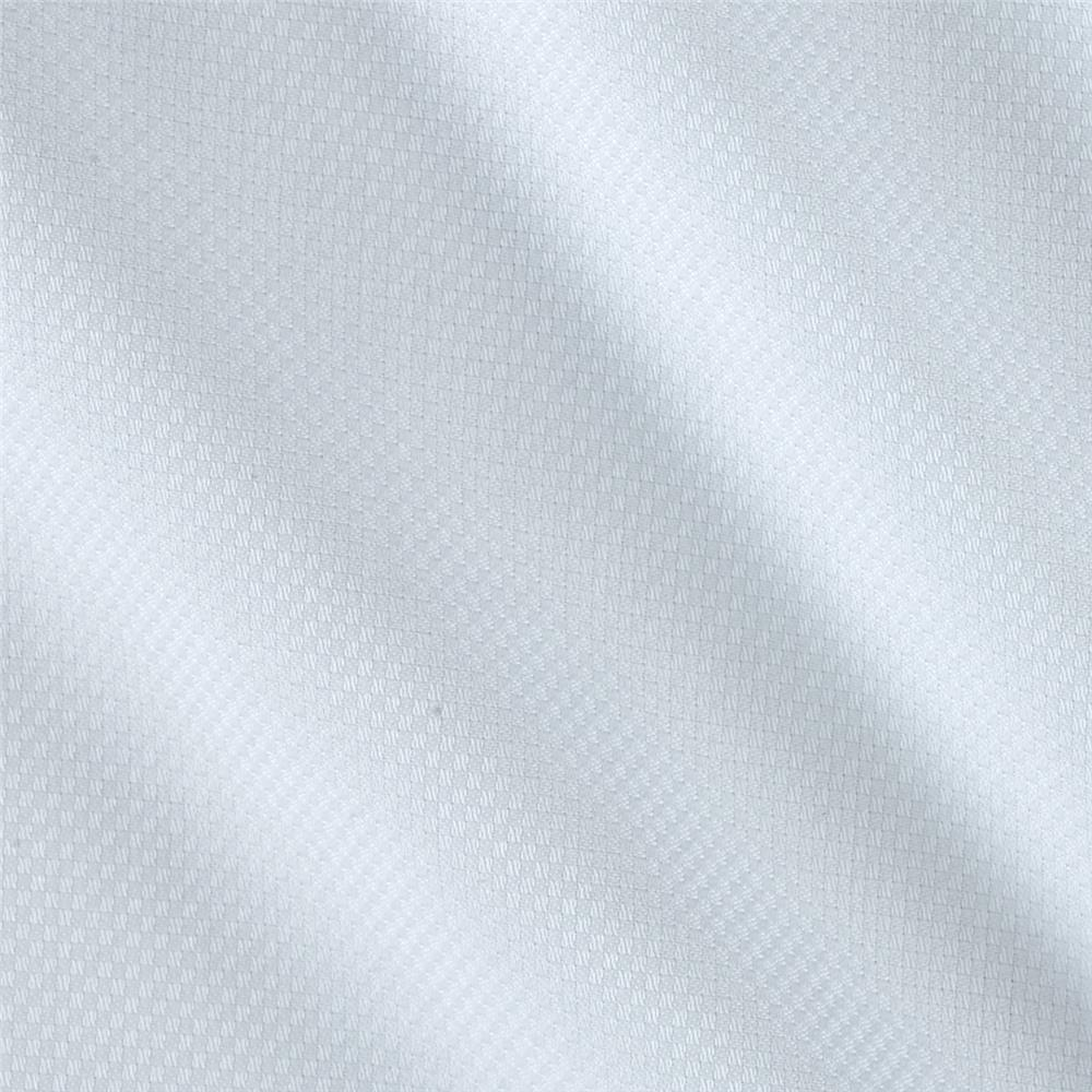 Kaufman White Shirt Silky Dobby Checkerboard White