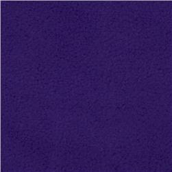 Wintry Fleece Dark Purple Fabric