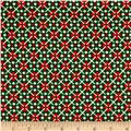 Cozies Flannel Christmas Large Check Green