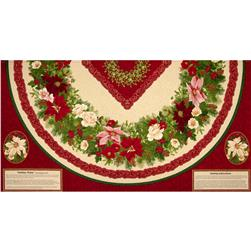 Holiday Finery Tree Skirt Panel Multi