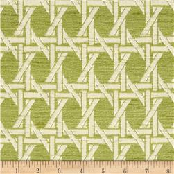 Nautica Indoor/Outdoor Island Rattan Palm Green Fabric