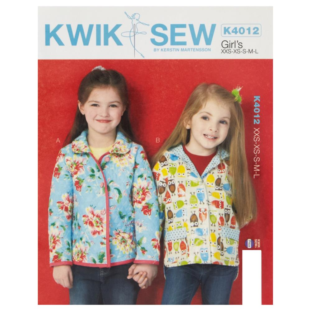 Kwik Sew Girl's Lined Jackets Pattern