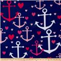 Simply Anchors Avay Navy/Pink