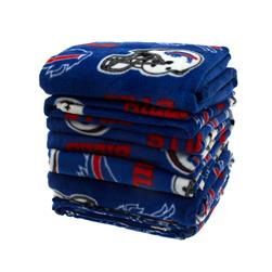 Three Pound NFL Fleece Remnant Bundle Buffalo Bills
