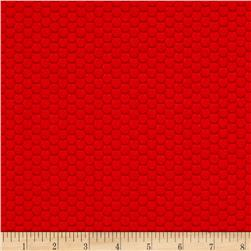 Ibot Hexi Grid Red
