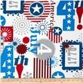Alexander Henry Love, Luck and Liberty Happy Birthday USA Natural