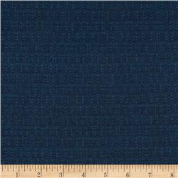 Kaufman Indikon 4.7 Oz Cotton Chambray Dot Plaid Denim