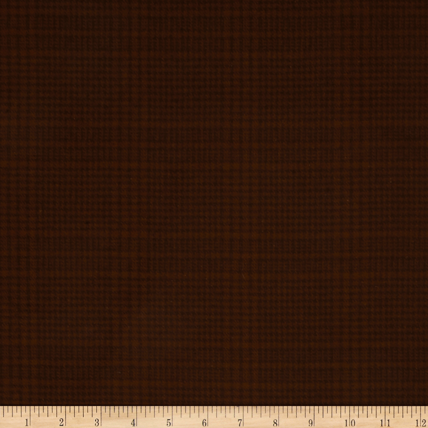 Image of Primo Plaids Flannel Espresso & Latte Glen Plaid Espresso Fabric